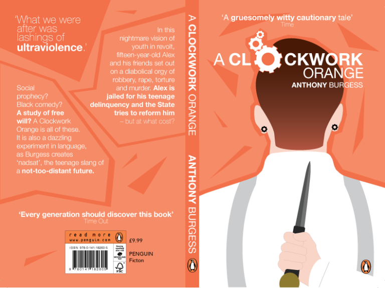 """an analysis of the teenagers free will in the novel a clockwork orange A clockwork orange themes from litcharts free will vs the """"clockwork orange"""" the phrase """"a clockwork orange"""" appears within the book as the name of f."""
